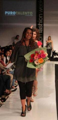 Ganadora del concurso Pilar Puro Talento 2011